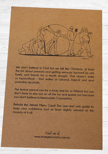 Atheist Card