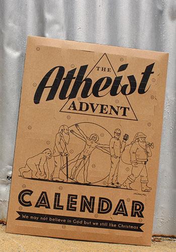 Strange Society Atheist Cards Atheist Advent Calendar Strange